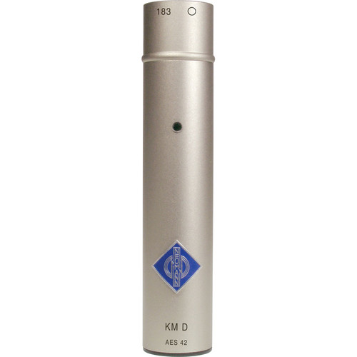 Neumann KM D Omnidirectional Diffuse Field Equalized Microphone Base with KK 133 Capsule Head (Nextel Black)