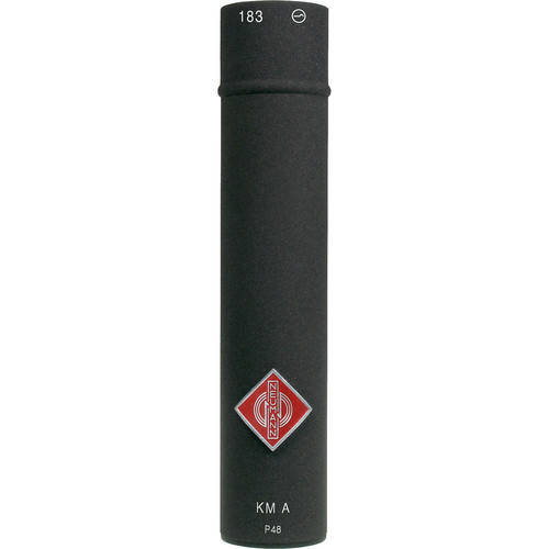 Neumann KM 183 Omnidirectional Analog Microphone (Black)