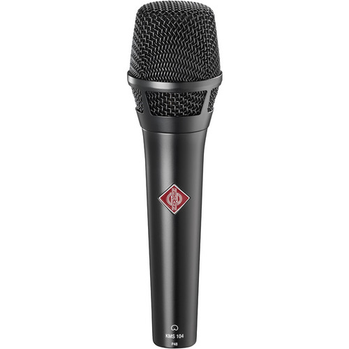Neumann fet100 Series KMS 104 Cardioid Condenser Vocalist Microphone (Black)