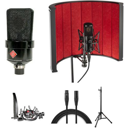 Neumann TLM103MT Large Diaphragm Condenser Mic and Rycote InVision Studio Kit (Black)