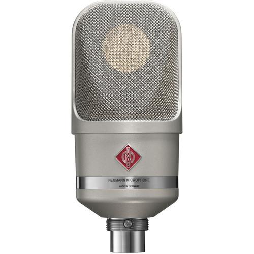 Neumann TLM 107 Large-Diaphragm Multipattern Condenser Microphone (Nickel)