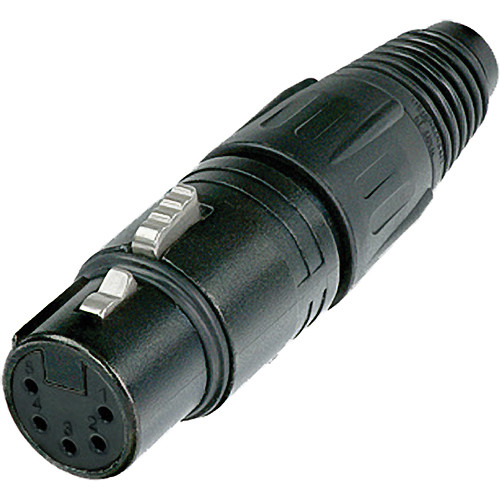 Neutrik NC5FX-B 5-Pole XLR Female Cable Connector