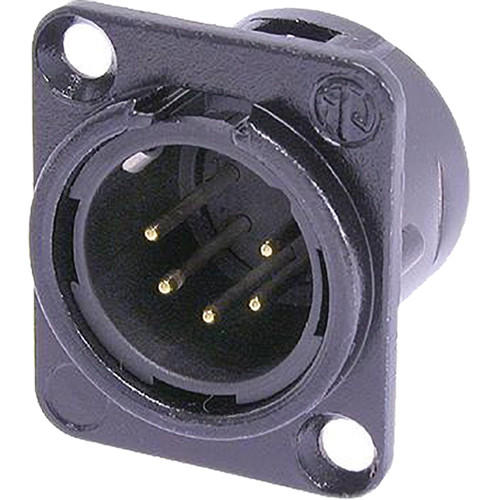 Neutrik NC5MD-L-B-1 Male Receptacle Connector (5-Pole)