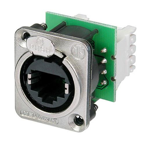 Neutrik NE8FDV-Y110 Ethernet Connection for etherCON Series RJ45 Terminal with IDC 110 Punch Down Terminal