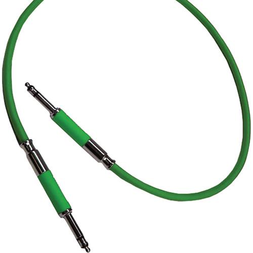 """Neutrik NKTT1-GN Patch Cable with NP3TT-1 Plugs (35.43"""" / 90 cm)"""