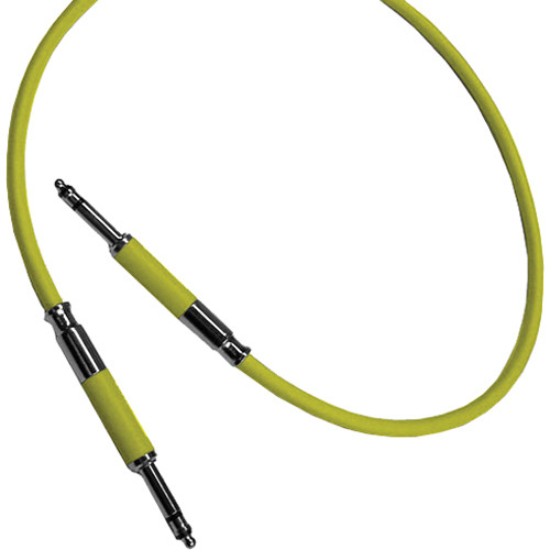 "Neutrik NKTT1-YE Patch Cable with NP3TT-1 Plugs (35.43"" / 90 cm)"