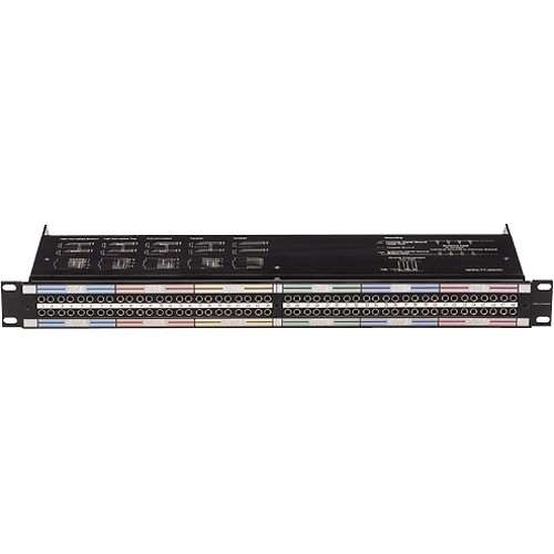 Neutrik NPPA-TT-T-HNT 96 Bantam (TT) Termination Patch Panel
