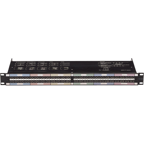 Neutrik NPPA-TT-SD50 96 Bantam (TT) Termination Patch Panel