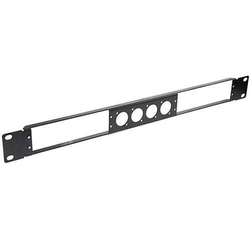 Neutrik NRP1RU-2A Dual Rackmount Panel for NA2-IO-DLINE Dante Adapters