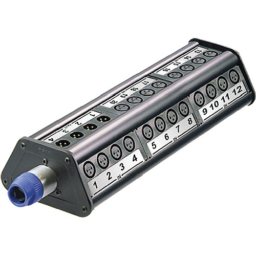 Neutrik NSB3A-32/4 Type A Stage Box (32 Input / 4 Output, Length 3)