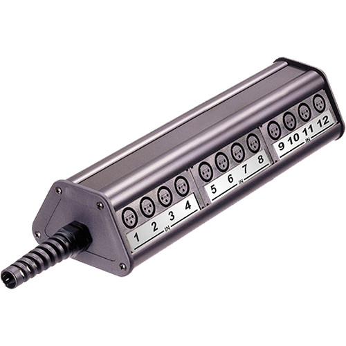Neutrik NSB3B-20/4 Type B Stage Box (20 Input / 4 Output, Length 3)