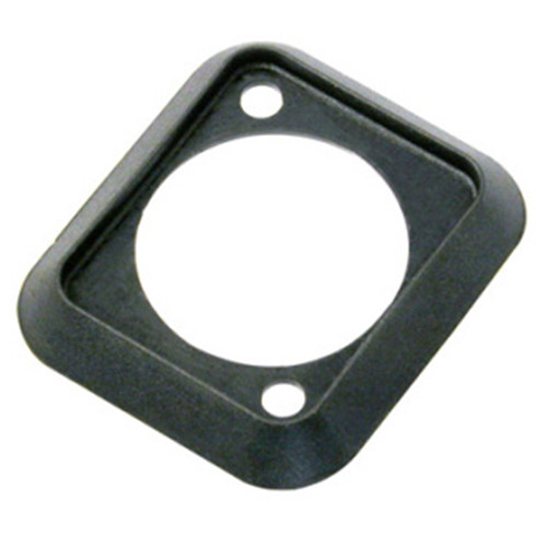 Neutrik SCDP-0 Sealing Gasket for D-Shape Front Panel Chassis Connectors (Black)