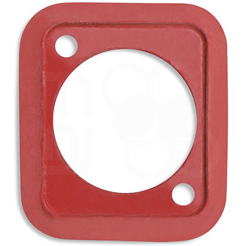 Neutrik Sealing Gasket for D-Shape Front Panel Chassis Connectors (Red)