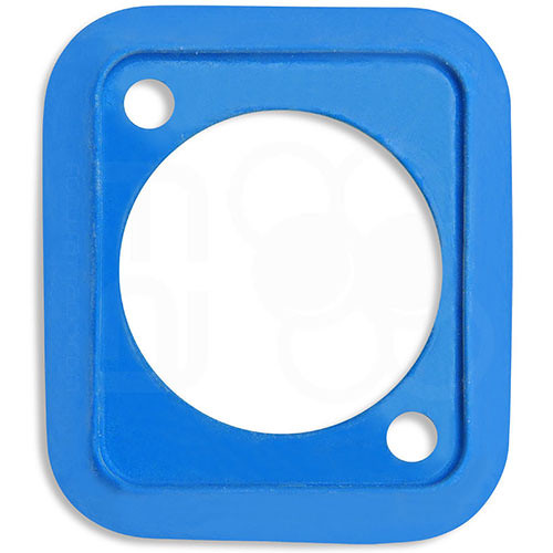 Neutrik Sealing Gasket for D-Shape Front Panel Chassis Connectors (Blue)