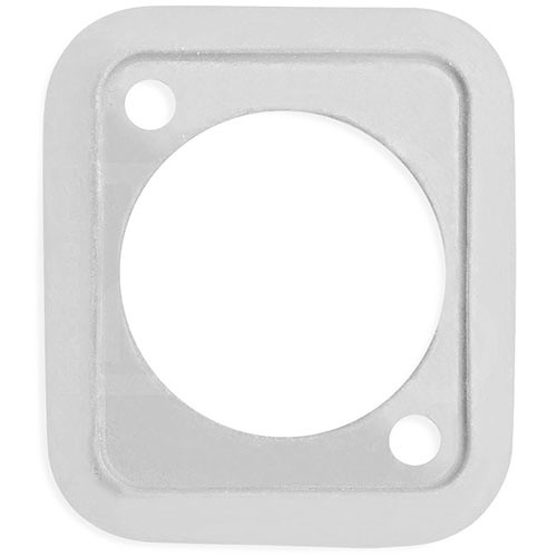 Neutrik Sealing Gasket for D-Shape Front Panel Chassis Connectors (White)