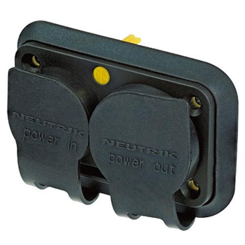 Neutrik SCNAC-PX Rubber Sealing Cover for Duplex Chassis Connector NAC3PX