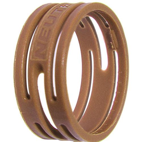 Neutrik Color Coding Ring for etherCon Connectors (100-Pack, Brown)
