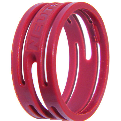 Neutrik Color Coding Ring for etherCon Connectors (100-Pack, Red)