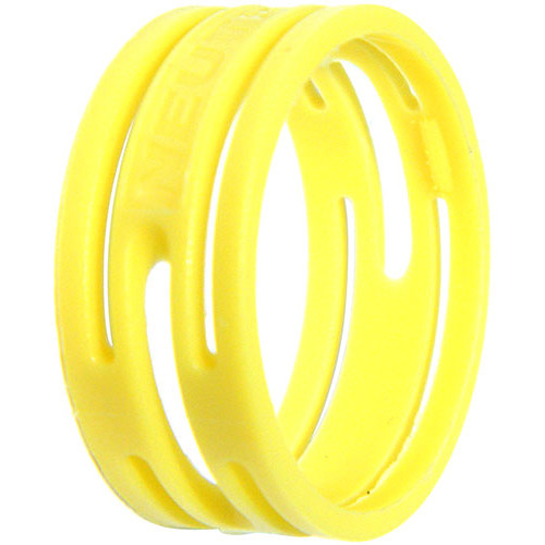Neutrik Color Coding Ring for etherCon Connectors (100-Pack, Yellow)
