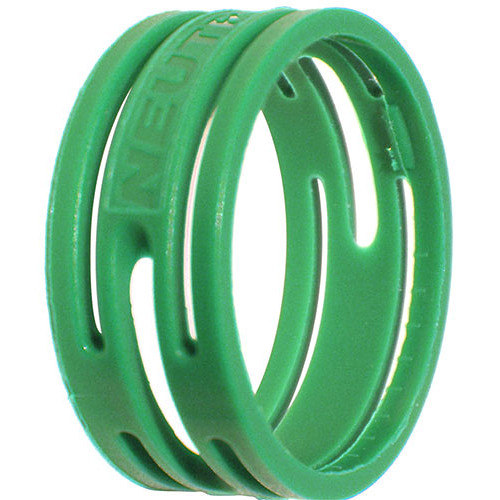 Neutrik Color Coding Ring for etherCon Connectors (100-Pack, Green)
