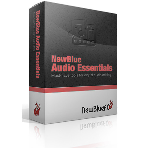NewBlueFX Audio Essentials