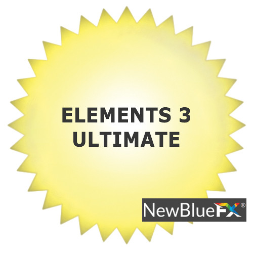 NewBlueFX Elements 3 Ultimate (Download)