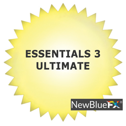 NewBlueFX Essentials 3 Ultimate (Download)