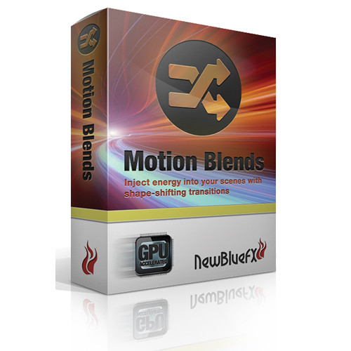 NewBlueFX Motion Blends
