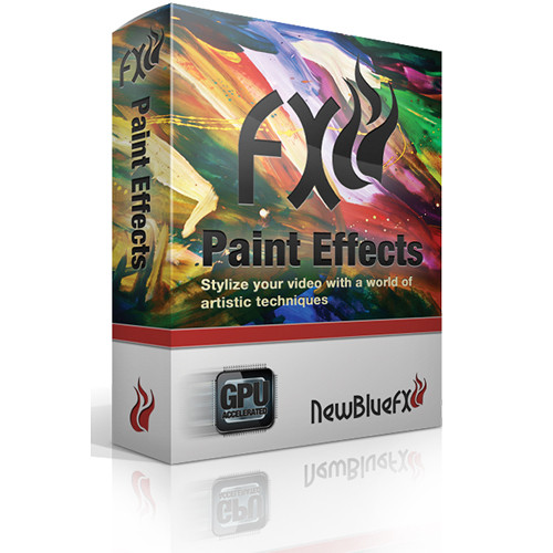 NewBlueFX Paint Effects