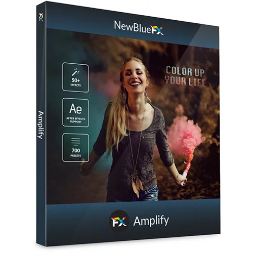 NewBlueFX Amplify Titling, FX & Transitions Bundle (Download)