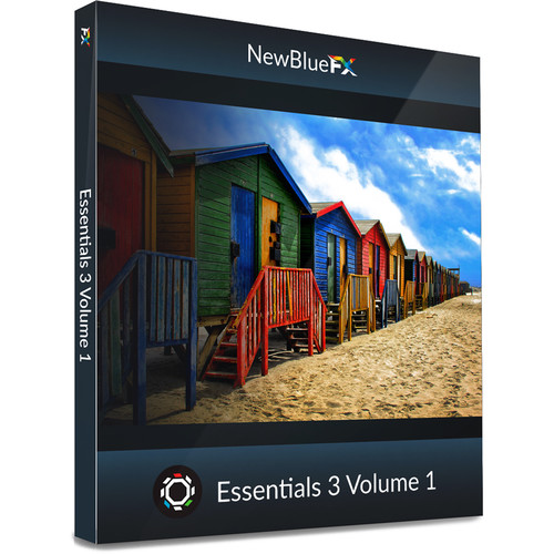 NewBlueFX Essentials 3 Vol. 1