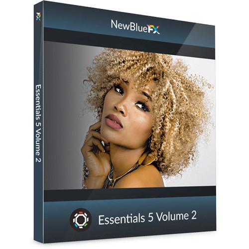NewBlueFX Essentials 5 Volume 2 (Download)