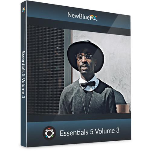 NewBlueFX Essentials 5 Volume 3 (Download)