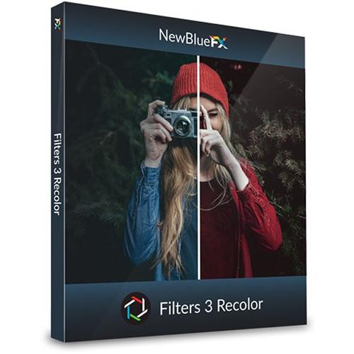 NewBlueFX Filters 5 Recolor (Download, Mac/Windows)