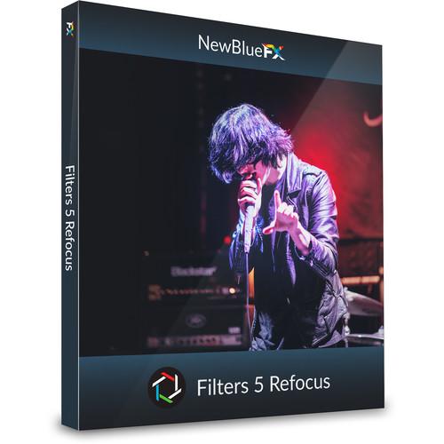 NewBlueFX Filters 5 Refocus (Download, Mac/Windows)