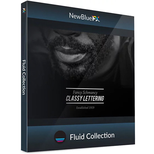 NewBlueFX Fluid Motion-Graphics Titling Collection