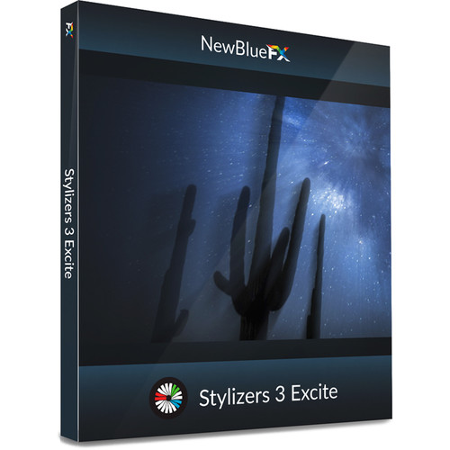 NewBlueFX Stylizers 3 Excite (Download)