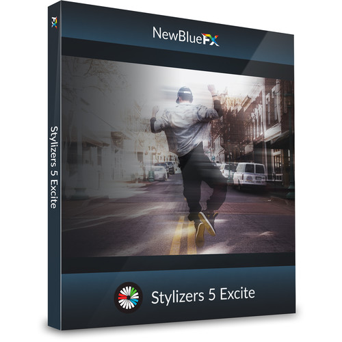 NewBlueFX Stylizers 5 Excite Effects (Download)