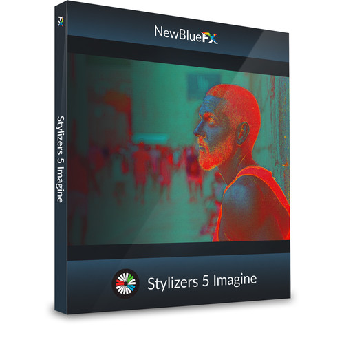 NewBlueFX Stylizers 5 Imagine Effects (Download)