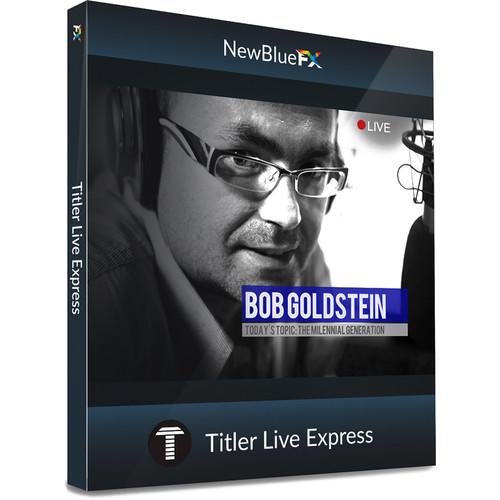 NewBlueFX Titler Live Express (Download)