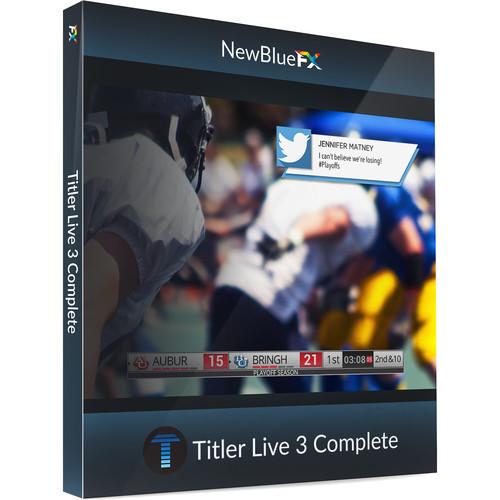 NewBlueFX Titler Live 3 - Complete