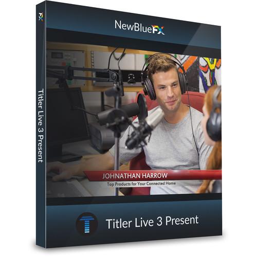 NewBlueFX Titler Live 3 Present