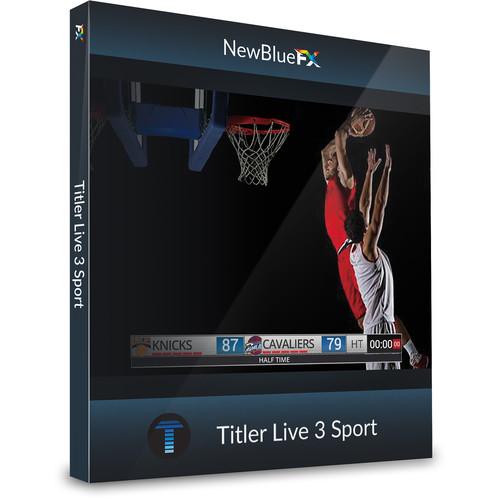 NewBlueFX Titler Live 3 Sport