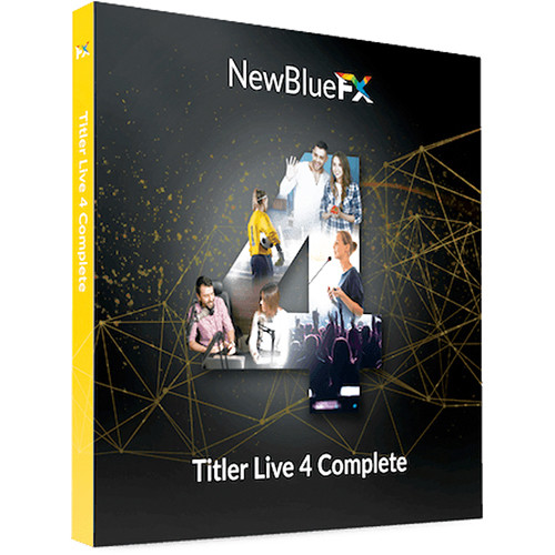 NewBlueFX Titler Live 4 Complete (Download)