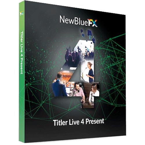 NewBlueFX Titler Live 4 Present (Download)