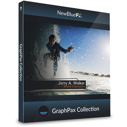 NewBlueFX GraphPax Title Template Collection (Download)