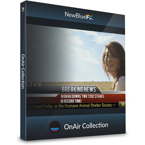 NewBlueFX OnAir Lower-Thirds Template Collection (Download)