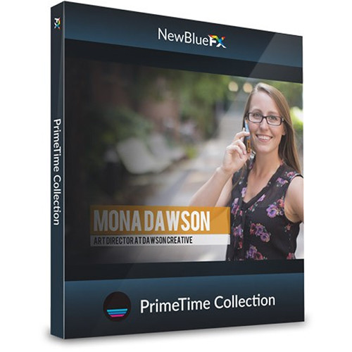 NewBlueFX PrimeTime Lower-Thirds Template Collection (Download)