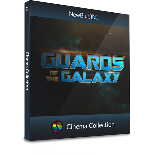 NewBlueFX Cinema Titling Collection (Download)