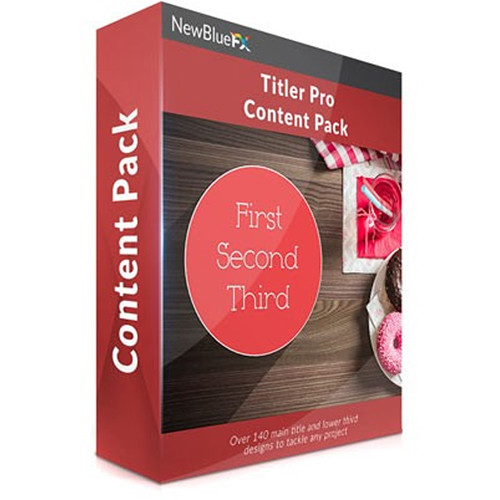 NewBlueFX Titler Pro Content Pack